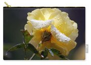 Dewy Yellow Rose 1 Carry-all Pouch