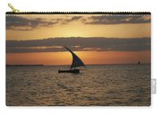 Dhow At Sunset Carry-all Pouch