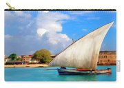 Dhow Off Zanzibar Carry-all Pouch