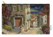 Di Notte Al Mare Carry-all Pouch by Guido Borelli