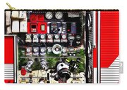 Dials And Hoses On Fire Truck Carry-all Pouch