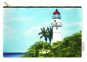 Diamond Head Lighthouse #10 Carry-all Pouch