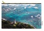 Diamond Head Lighthouse Carry-all Pouch