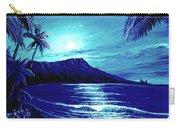Diamond Head Moon #123 Carry-all Pouch