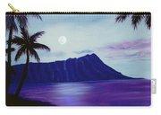 Diamond Head Moon Waikiki #34 Carry-all Pouch