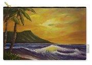 Diamond Head Sunrise Oahu #414 Carry-all Pouch