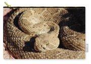 Diamondback Rattlesnake Close-up 062414a Carry-all Pouch