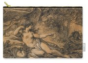 Diana And Actaeon Carry-all Pouch