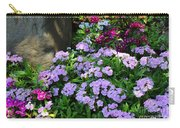 Dianthus Flower Bed Carry-all Pouch