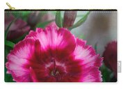 Dianthus Flower II Carry-all Pouch