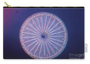 Diatom - Arachnoidiscus Ehrenberi Carry-all Pouch by Eric V. Grave