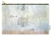Dice Patent Carry-all Pouch