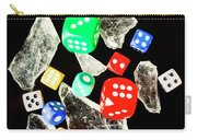Dicing With Chance Carry-all Pouch