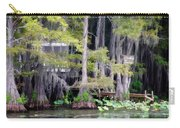 Dick And Charlies Tea Room Carry-all Pouch by Lana Trussell