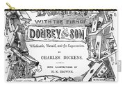 Dickens: Dombey And Son Carry-all Pouch