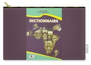 Dictionary Of Negroafrican Celebrities 1 Carry-all Pouch
