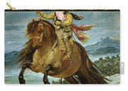 Diego Velazquez 1599-1660 Prince Baltasar Carlos On Horseback Carry-all Pouch