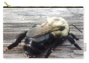 Different Take Of A Bee Carry-all Pouch