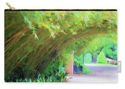 Digital Bamboo Rip Van Winkle Gardens  Carry-all Pouch