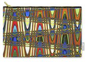 Digital Broad Paint Abstract Carry-all Pouch