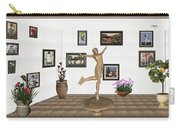 digital exhibition _ A sculpture of a dancing girl 11 Carry-all Pouch