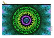 Digital Kaleidoscope Mandala 50 Carry-all Pouch