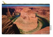 Digital Paint Horseshoe Bend  Carry-all Pouch
