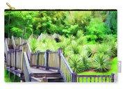 Digital Paint Landscape Jefferson Island  Carry-all Pouch