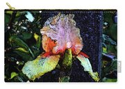 Digital Painting Pink And Yellow Iris 6758 Dp_2 Carry-all Pouch