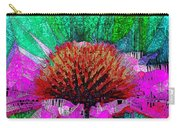 Digital Pink Echinacea  Carry-all Pouch