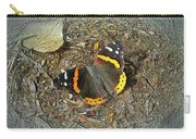 Digital Red Admiral Butterfly - Vanessa Atalanta Carry-all Pouch