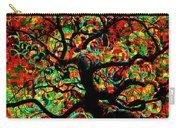 Digital Tree Impressionism Pixela Carry-all Pouch