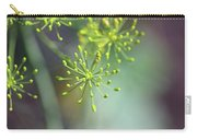 Dill Abstract On Mint Green And Plum Carry-all Pouch