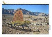 Dimetrodon In The Desert Carry-all Pouch