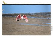 Ding Darling - Roseate Spoonbill - Taking Flight Carry-all Pouch