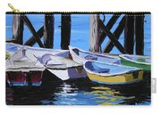 Dinghies At The Dock Carry-all Pouch