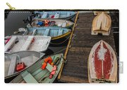 Dinghies At Town Wharf Carry-all Pouch
