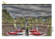 Dining With A View Carry-all Pouch