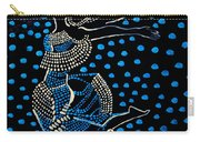Dinka Dancing Maiden - South Sudan Carry-all Pouch