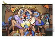 Dinner And A Movie Carry-all Pouch by Anthony Falbo
