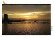 Dinning With Sunset  Carry-all Pouch