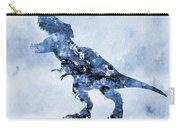 Dinosaur Rex-blue Carry-all Pouch