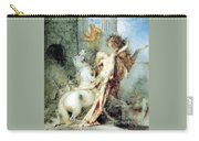 Diomedes Devoured By His Horses Watercolour Gustave Moreau Carry-all Pouch