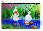 Dipping Duckies - Furry Forest Friends Mural Carry-all Pouch