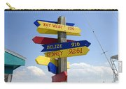 Directions To Paradise Carry-all Pouch