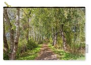 Dirt Path In A Birch Grove  Carry-all Pouch