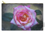 Dirty Pink Rose Carry-all Pouch