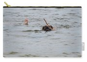 Dirty Water Dog And Feet Carry-all Pouch