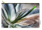 Dirty White Lily 1 Carry-all Pouch