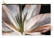 Dirty White Lily 3 Carry-all Pouch